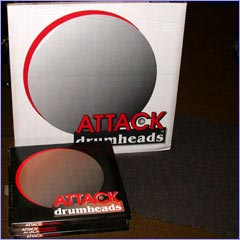 Attack features a full line of heads in various weights and in clear, white, and black versions. Their Signature line most notably features TERRY BOZZIO model heads, featuring locking steel hoops and made-in-the-USA manufacturing.